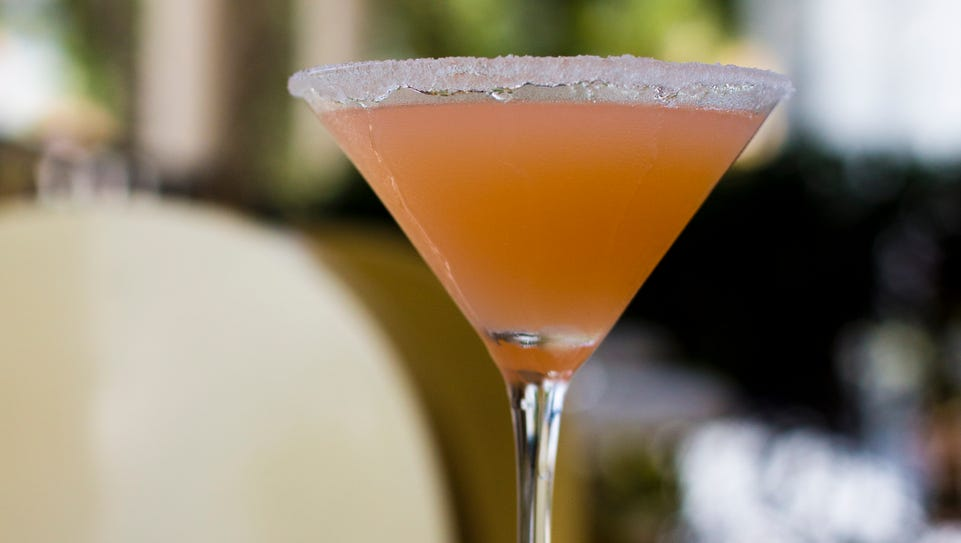 The White Grapefruit Cosmo, made by Olivia McKelvey