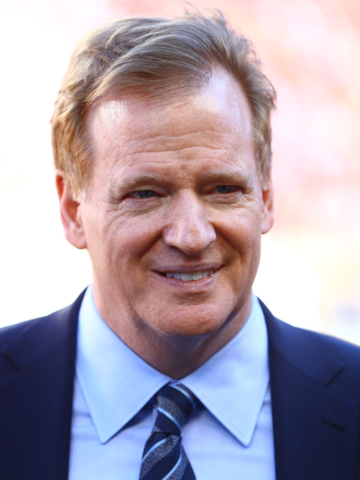 Roger Goodell, commissioner of the NFL.