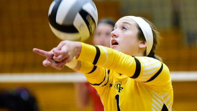 Old Fort's Allison Adelsperger was recognized first-team all-Ohio in Division IV.