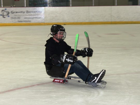 Sled or sledge hockey has been existence for about 50 years.