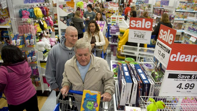 Toys R Us was a popular spot for Black Friday shoppers. As toy shoppers face the first season without Toys R Us, other big retailers, online outlets and independently owned toy stores will vie for business.