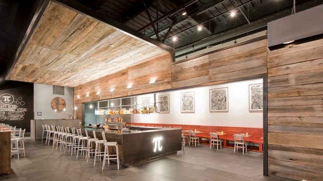 The downtown St. Louis space, designed by Kyle Nottmeier of Space Architects, which will design the Cincinnati store.