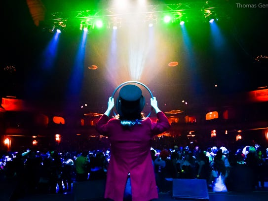 Monster's Ball, the huge  soiree held at the Fillmore