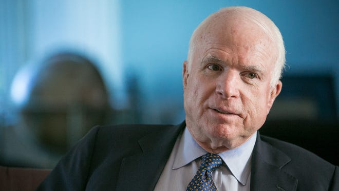 U.S. Sen. John McCain, R-Ariz., opposes the idea of a 20 percent border-adjustment tax on imports from Mexico and other countries.