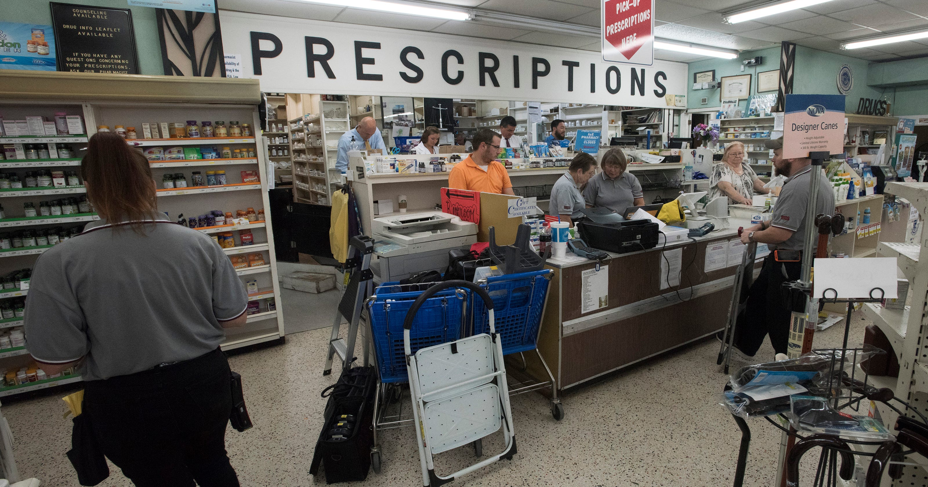 Independent pharmacies top list for Escambia County opioid sales