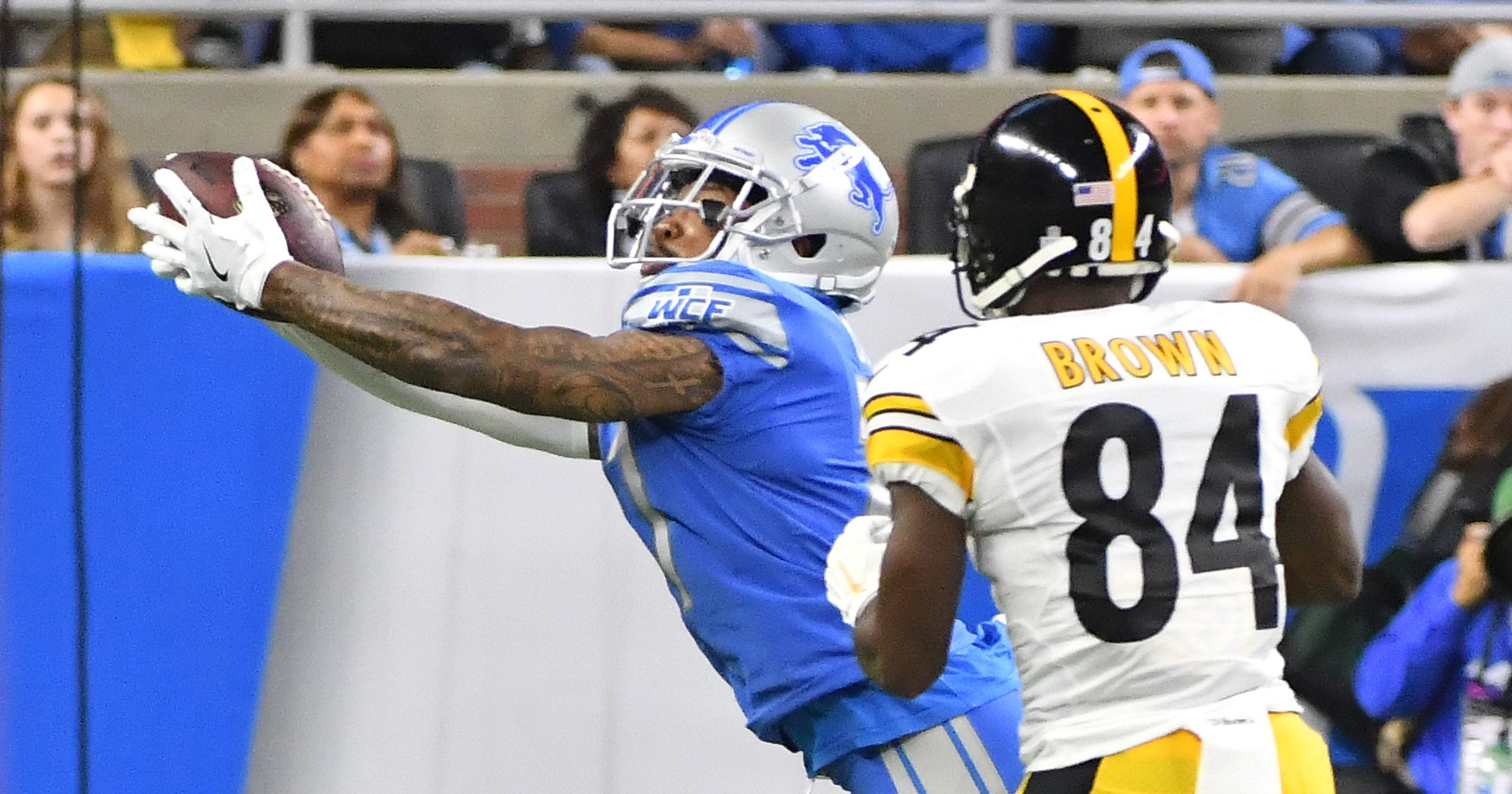 1d9632c95 Live updates  Lions fall to Steelers