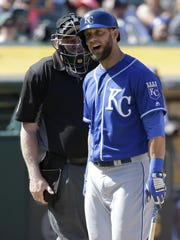 Royals left fielder Alex Gordon has struggled a little this season at the plate, but he's certainly had some moments against the Tigers.