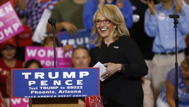 """""""I missed all the good stuff and the rewards of the hard work,"""" says former Arizona Governor and Donald Trump surrogate Jan Brewer, who fainted during the festivities on Election Night."""