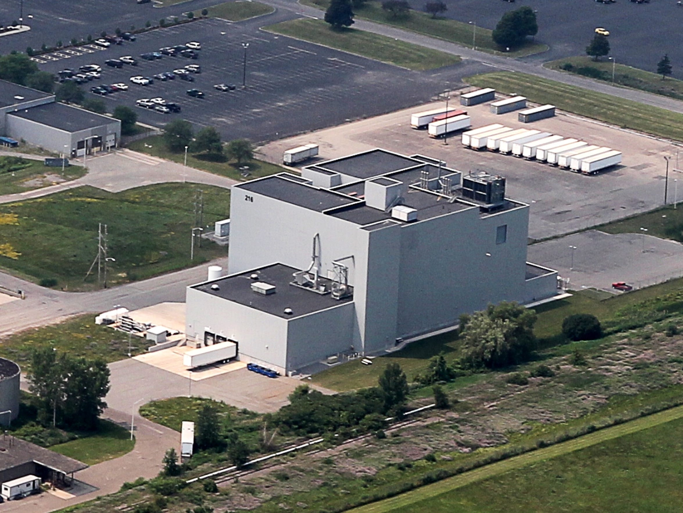 An Aerial View Of Part Of Xerox Corp's Operations