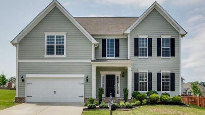 This Williamson County home, at 710 Wadestone Trail in Franklin, was built in 2012 and has 2,793 square feet.