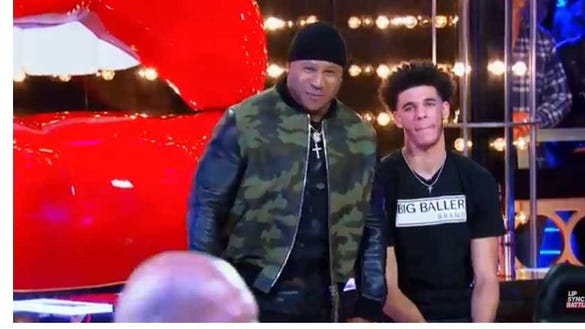 LaVar Ball performed Nas' 'Hate Me Now' on 'Lip Sync Battle'