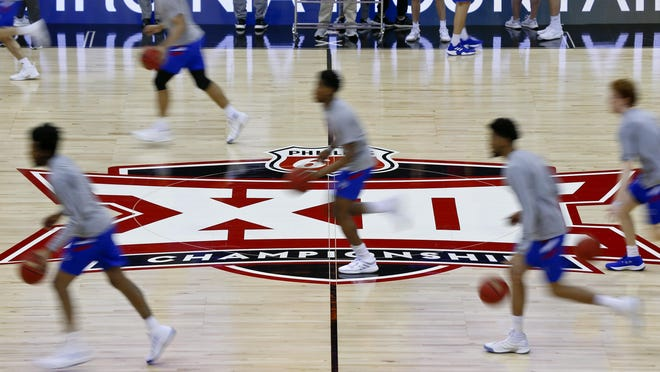 Kansas basketball was slotted second in the Big 12 preseason coaches poll, the first time the Jayhawks weren't first in the vote since the 2011-12 campaign. Baylor earned the top nod for the first time in program history.