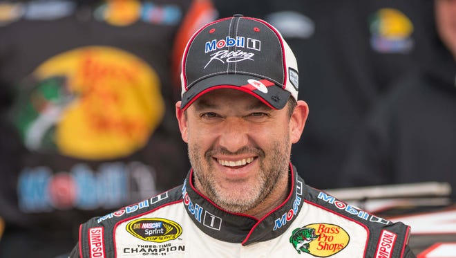 Tony Stewart has taken to Twitter, which he first started using on May 16.