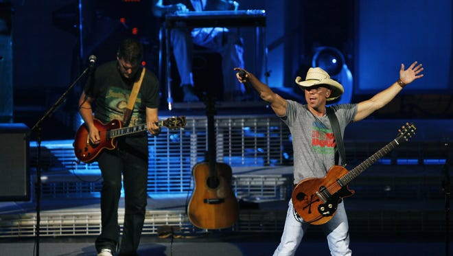 Kenny Chesney, shown here at CMAC in 2011, returns for a concert next summer.