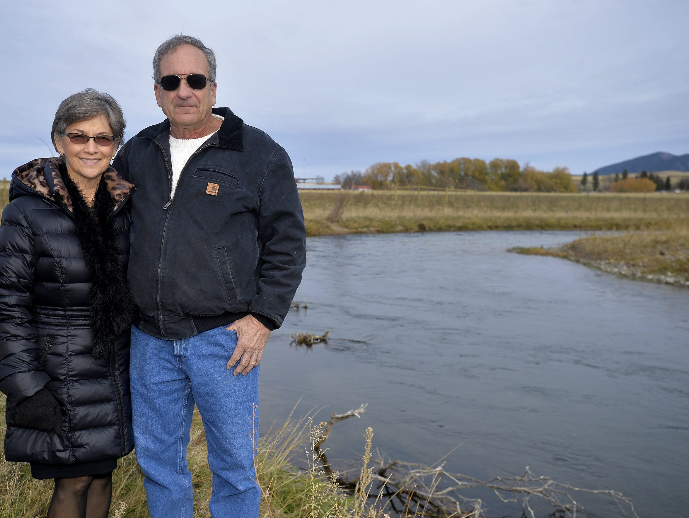 Mark and Sheila Machler  worked with Fish, Wildlife