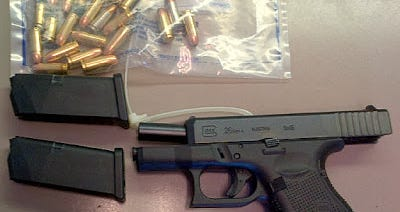 The Transportation Security Administration is finding more firearms each year at airport checkpoints, including this gun and ammunition found in Nashville the week ending Dec. 27.