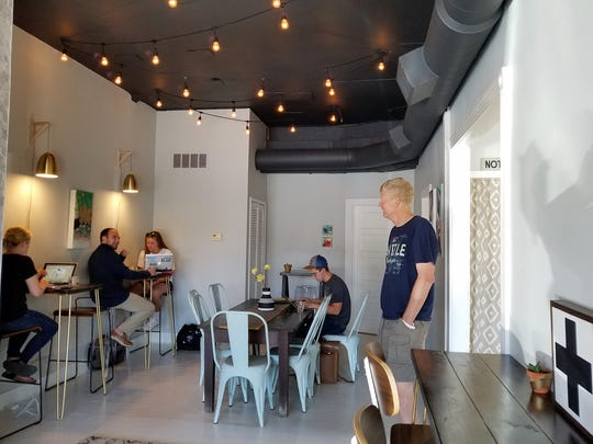 Honey + Dew Coffee is meant to be a comfortable, bright place where people can gather and meet old or new friends over excellent local coffee and food.