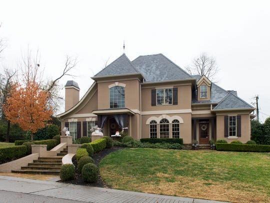 Exterior view of Deborah Franklin's home.