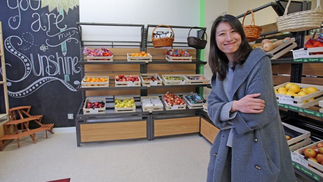 June Liu, owner of The Only Mart in New Rochelle.