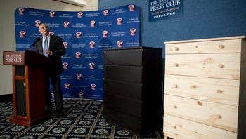 Several children died when Ikea dressers tipped over on them.