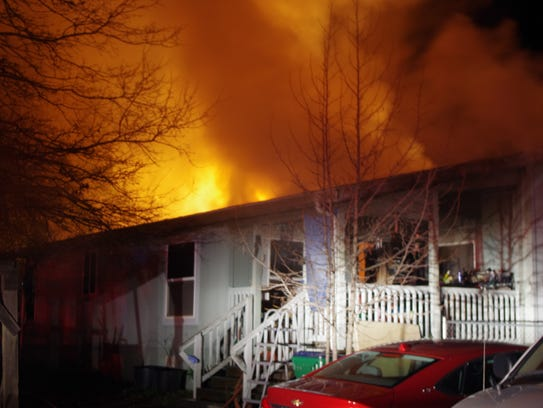 A Jan. 7 fire caused major damage to a home in Bella Vista.