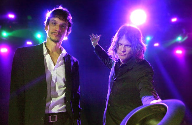 Cody, left, and Luther Dickinson of the North Mississippi Allstars will release their 'World Boogie Is Coming' album Sept. 3.