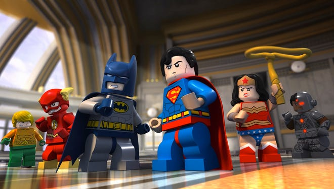 """Heroes come together as the Justice League in the new Cartoon Network special """"LEGO DC Comics: Batman: Be-Leaguered."""""""