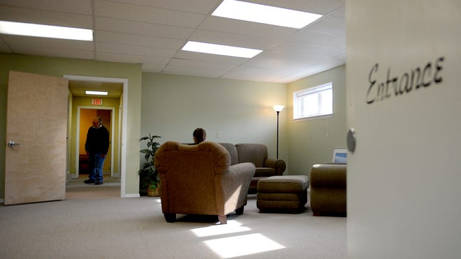 Officials offer a look inside the Micah Center, the new daytime homeless center at 700 East Walnut Street in downtown Green Bay.