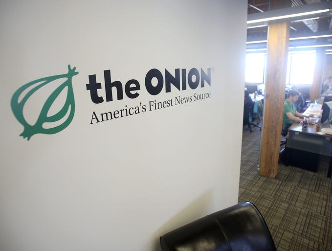 The Onion celebrated its 25th birthday in late August 2013.