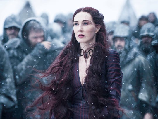 Red Priestess Melisandre (Carice van Houten) may have experienced the widest swing in fan sentiment of any character on HBO's 'Game of Thrones.'