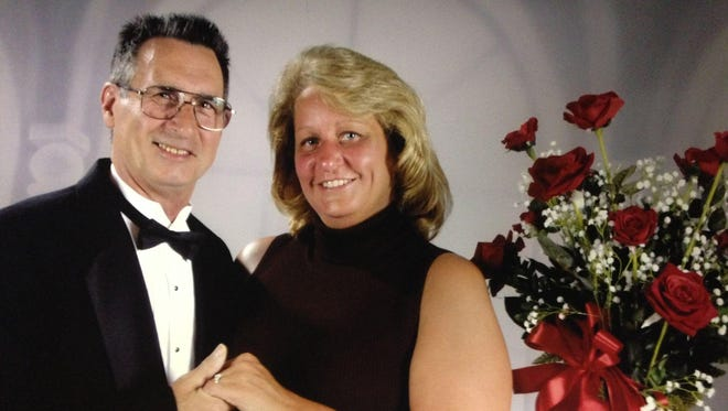 Richard Ruth died a few years after being diagnosed with MSA. Carol Ruth of Westland hopes for increased awareness of the disease.