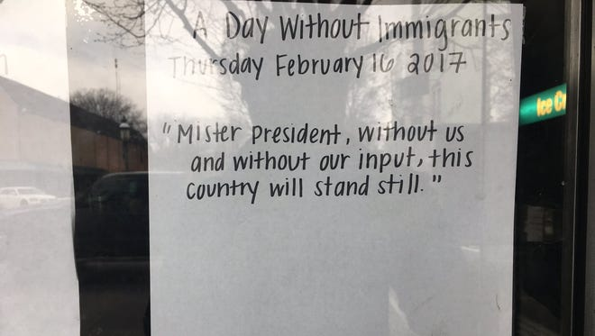 """El Gallo Garcia was one of five Chambersburg restaurants closed for the """"Day Without Immigrants"""" protests."""