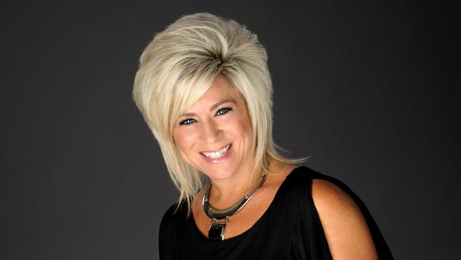 Medium Theresa Caputo performs Monday night at the State Theatre of Ithaca.