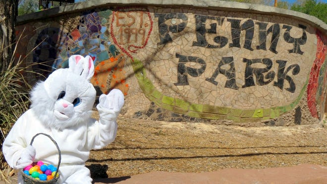 An Easter Egg Hunt will be held Saturday at Penny Park in Silver City.
