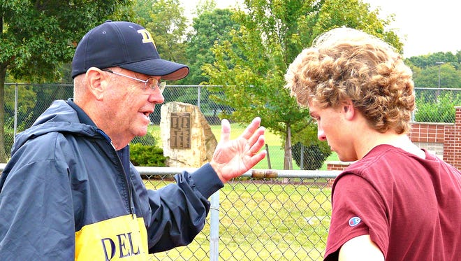 Hall of Fame inductee Bill Petty started coaching at Del Val in 1964, but took a 12-year time-out when he retired from teaching in 1994. He is currently the head coach for boys' cross country and girls' track & field.