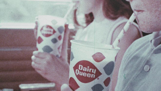 This still from a Dairy Queen commercial is part of the recently acquired collection of commercials from 1959 through 1991 at the IU Libraries Moving Image Archive.