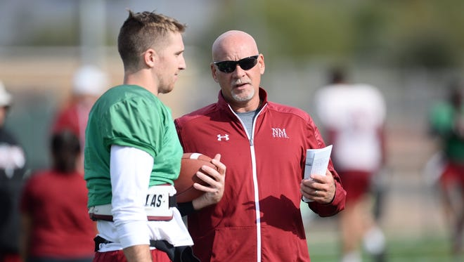 Can Aggies head coach Doug Martin and senior quarterback Tyler Rogers put together one more stellar game on offense against Utah State in the Arizona Bowl?