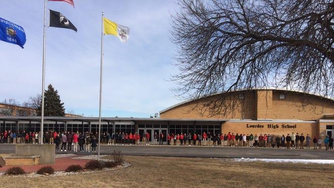 Lourdes Academy High School, 110 N. Sawyer St. Oshkosh