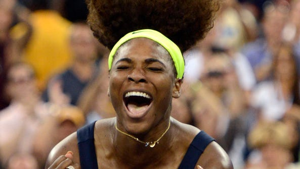Serena Williams won the U.S. Open for the fourth time last year.