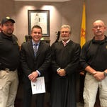 Alamogordo police swears in new officer