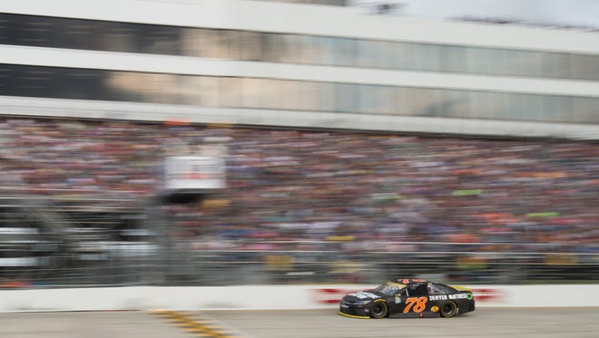 Martin Truex Jr., was winner of the Citizen Soldier 400 NASCAR Sprint Cup Series race at Dover International Speedway on Oct. 2. The speedway's owner, Dover Motorsports Inc., will release its third quarter earnings on Thursday.
