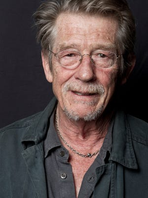 Oscar-nominated actor John Hurt, seen in 2011, has died in London. The actor, who died Jan. 27, was 77.