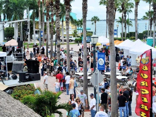 Friday Fest goes from 5:30 to 9 p.m. at Marina Square