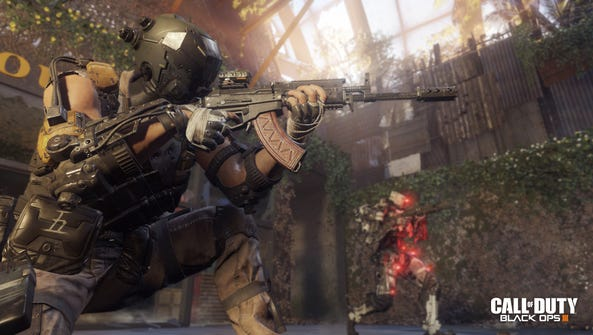"A screen shot from the video game ""Call of Duty: Black"
