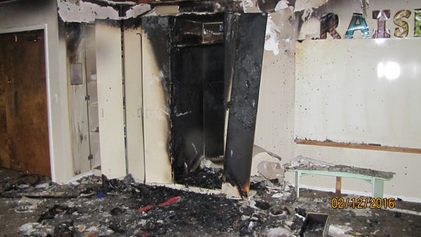 The fire that ignited in the classroom of a Mennonite