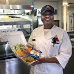 Healthier food on the go now an option at 1st Brigade's dining hall