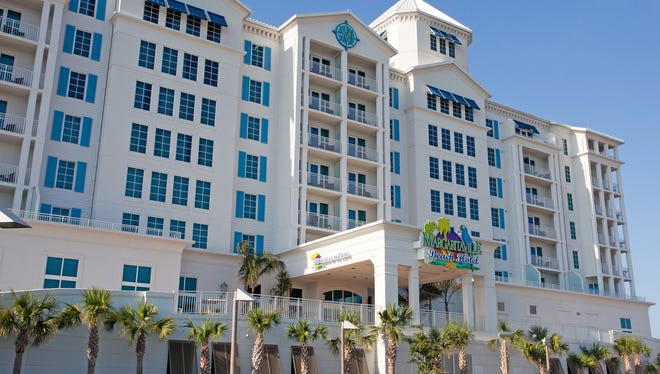 Margaritaville Beach Hotel on Pensacola Beach