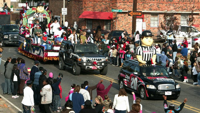 The Sonic Christmas Parade scheduled for Sunday has been canceled.