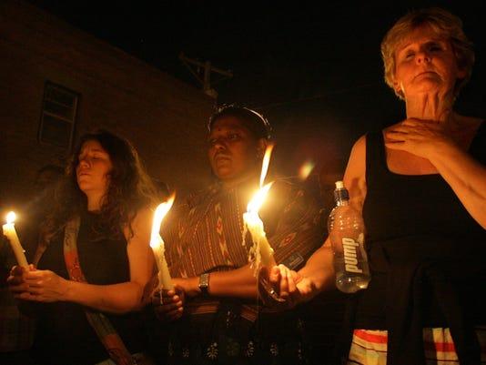 Vigil for Sergio Adrian Hernandez Guereca