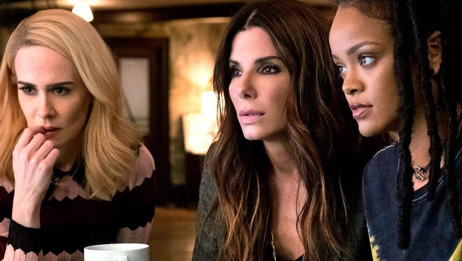 """Sandra Bullock plays a thief looking for the next job in """"Ocean's Eight,"""" opening Friday."""